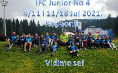 IFC Junior No4. 4/11 & 11/18 July 2021.